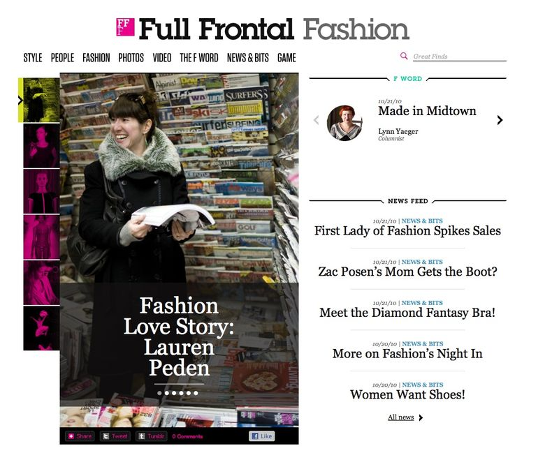 The Fashion Informer on FFF