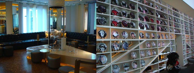 W London:lobby & plates