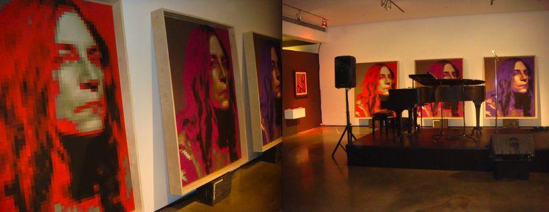 Steven Sebring:Illumination-Patti Smith triptych4