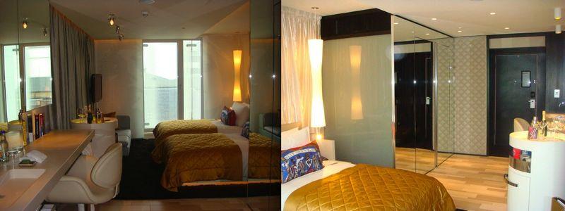 W London:guest room