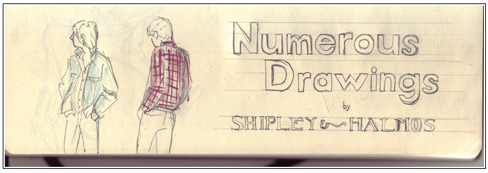 Shipley & Halmos:drawings:The Fashion Informer