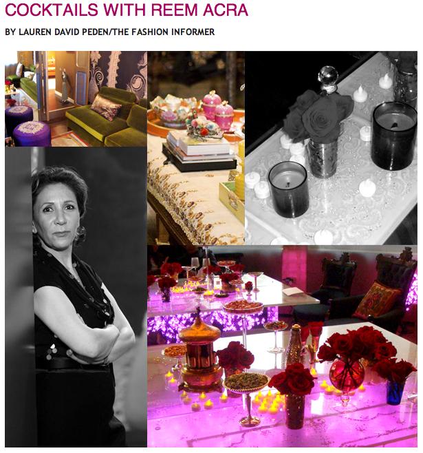 Rue La La:The Fashion Informer:Reem Acra