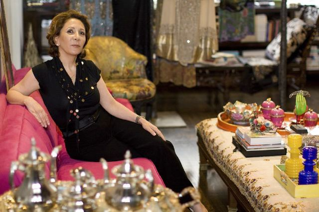 Reem Acra at home