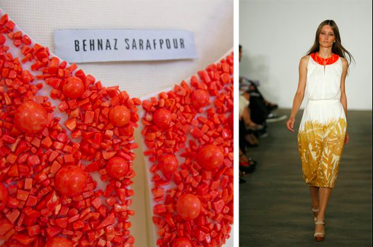 Behnaz Sarafpour detail:The Fashion Informer
