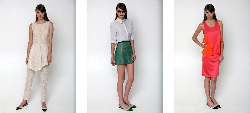 Behnaz Sarafpour Resort 2012:The Fashion Informer
