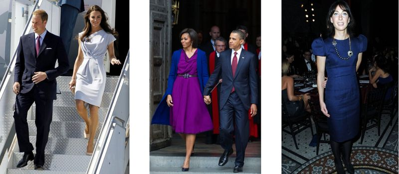 Kate Middleton, Michelle Obama, Samantha Cameron in Roksanda Ilincic:The Fashion Informer
