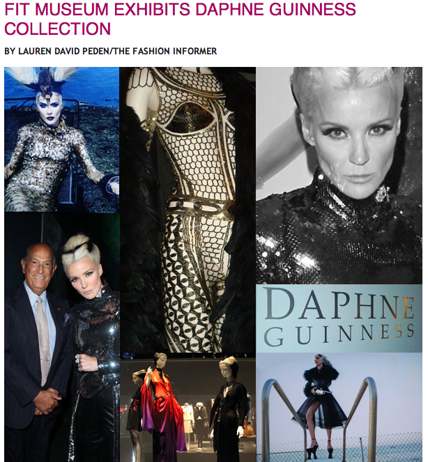 FIT on Rue La La-Daphne Guinness at FIT Museum