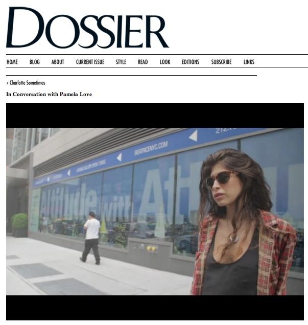 Dossier:In Conversation with Pamela Love by Lauren David Peden:The Fashion Informer