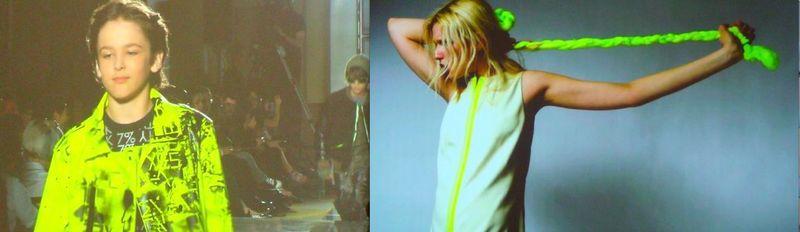 Parsons show:children's wear & video