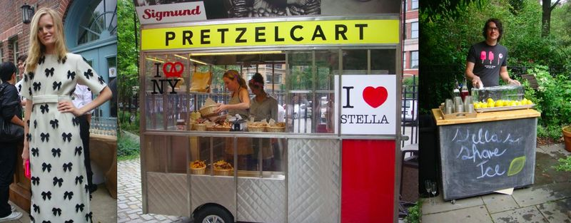 Stella McCartney Resort:pretzel cart:shaved ice:The Fashion Informer