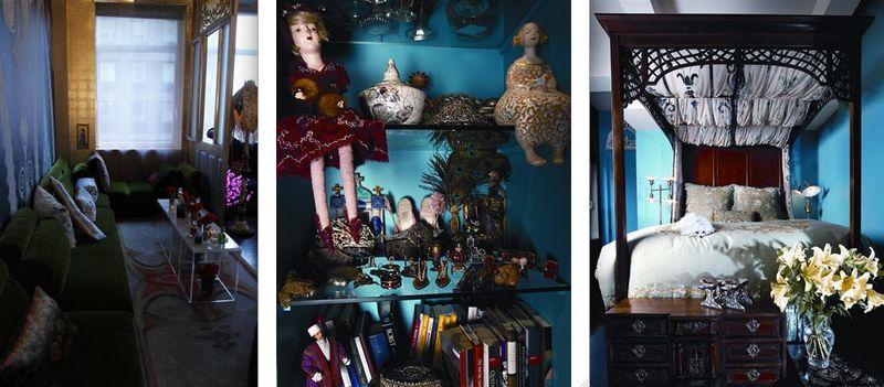 Reem Acra:dolls & bedroom
