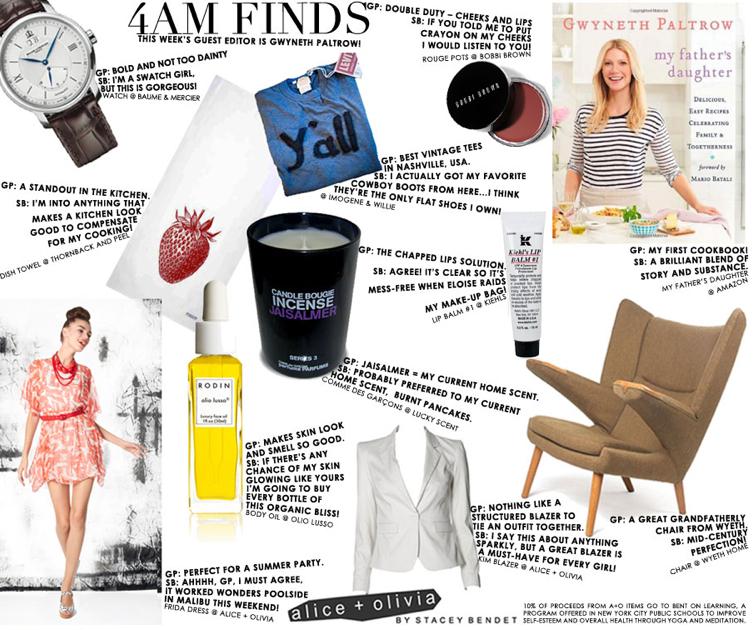 Alice + Olivia:4AM Finds:Gwyneth Paltrow