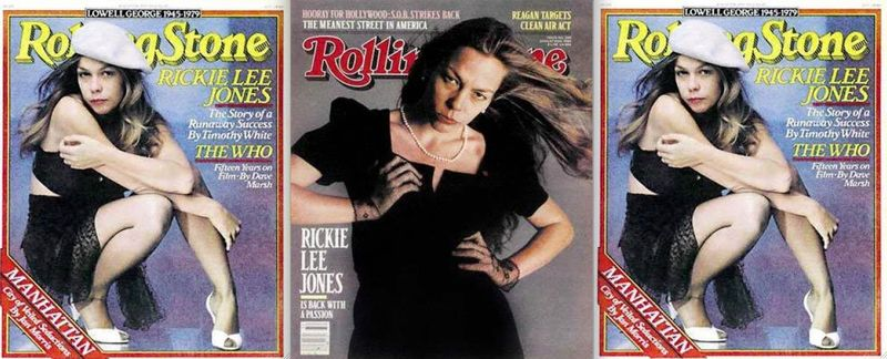 Rickie Lee Jones:Rolling Stone covers