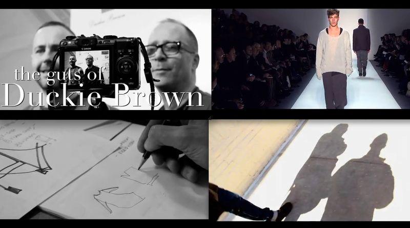Duckie Brown film 1:The Fashion Informer