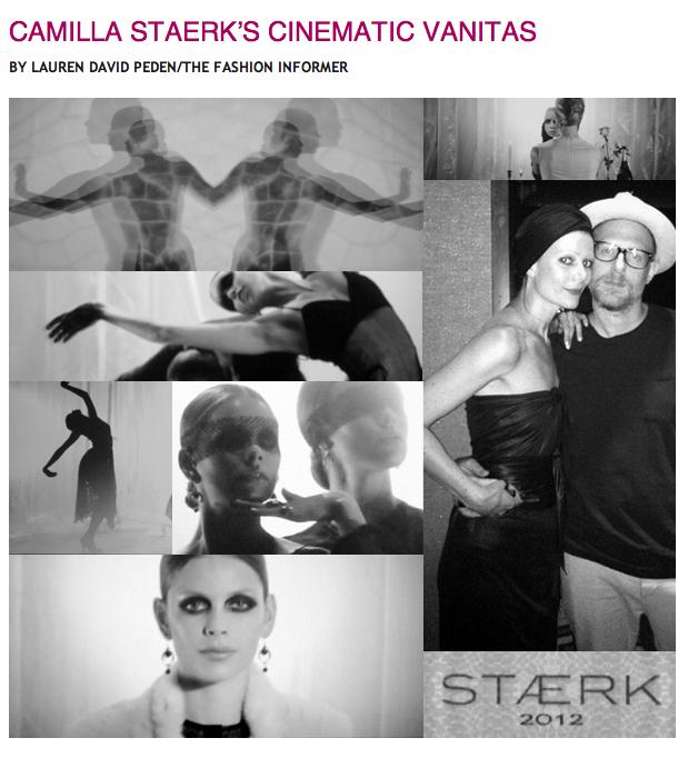 TFI:Rue La La:Camilla Staerk film