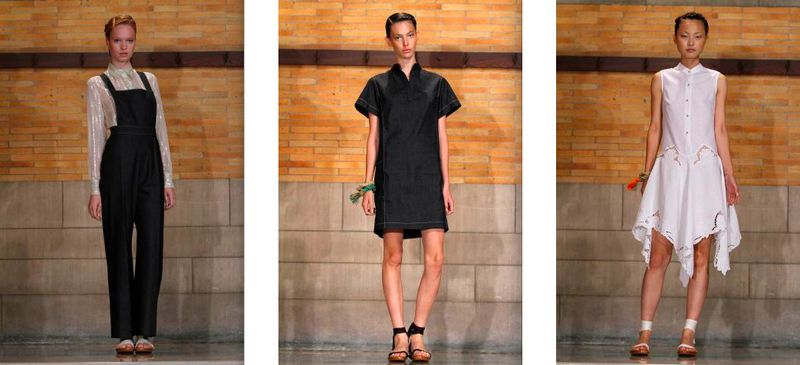 Behnaz Sarafpour Spring 2011:The Fashion Informer