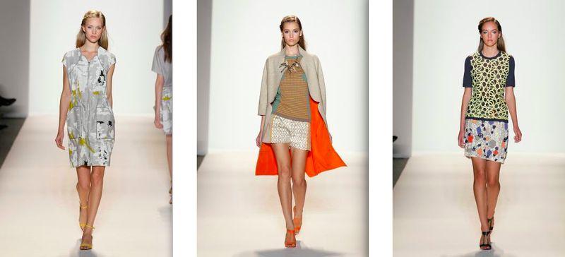 Lela Rose:spring 2012.1 by Dan Lecca