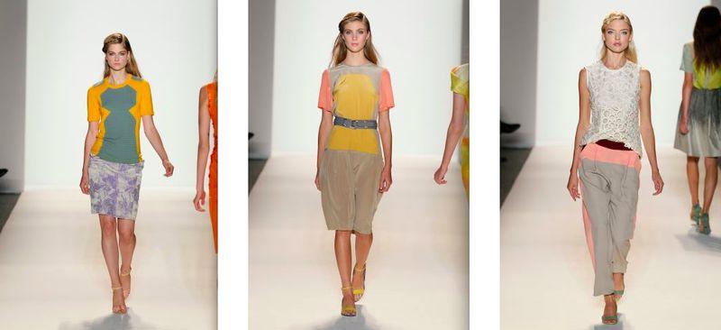 Lela Rose:spring 2012.2 by Dan Lecca