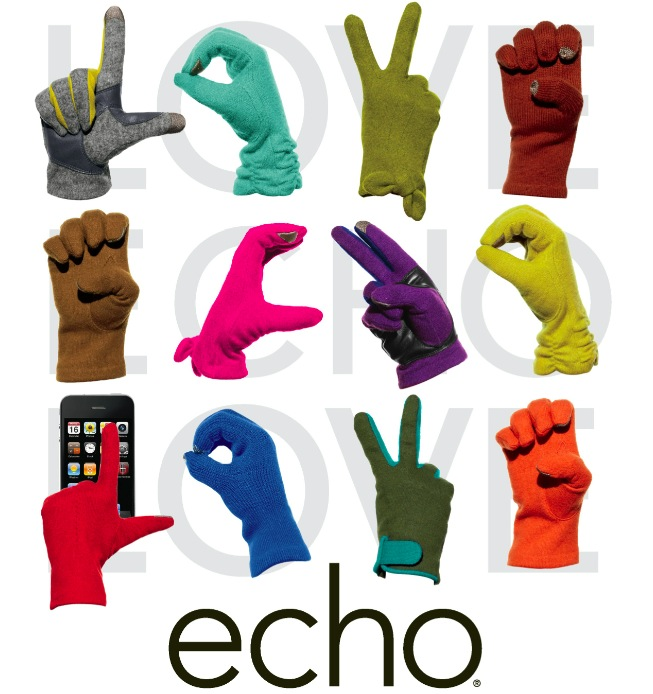 Informed Obsession-Echo Design:Echo Touch gloves