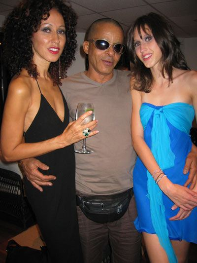 5. Pat Cleveland, Stephen Burrows, Anna Cleveland