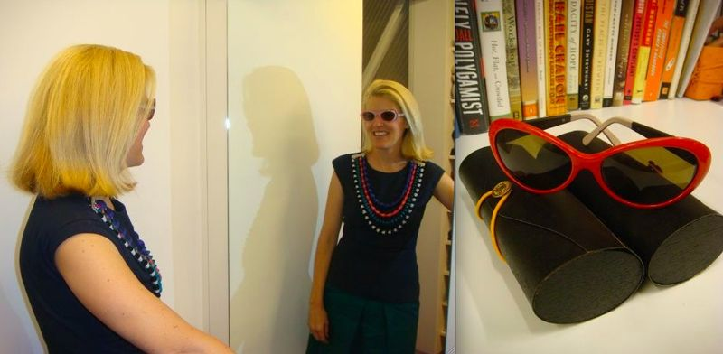 Lela Rose closet:2