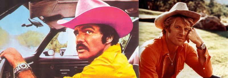 Burt Reynolds:Robert Redford