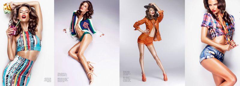 Alessandra Ambrosio:Lorenzo Martone:The Fashion Informer