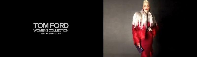 Tom Ford A:W 2012 video