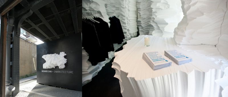 Richard Chai x Snarkitecture:The Fashion Informer