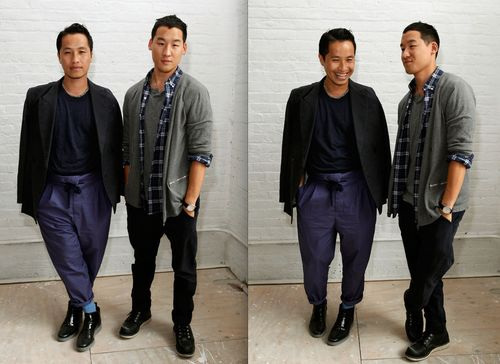 Phillip Lim & Richard Chai by Mark Von Holden:Getty