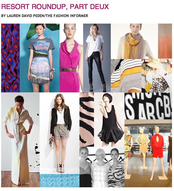 The Fashion Informer:Rue La La:Resort 2