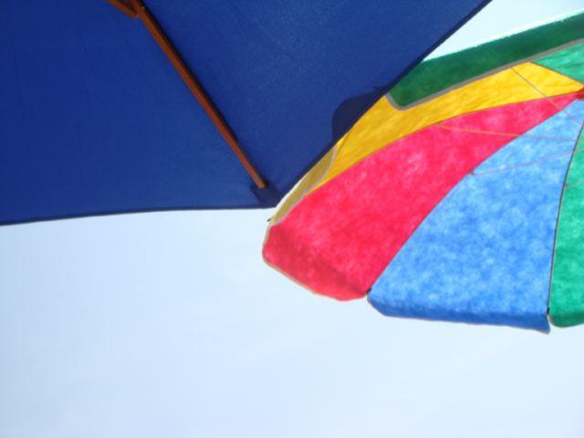 Beach umbrellas:The Fashion Informer