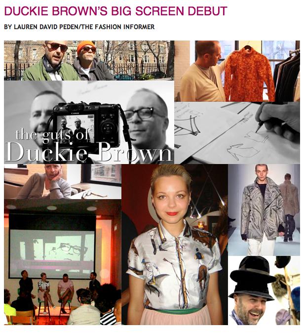 TFI:Duckie Brown film