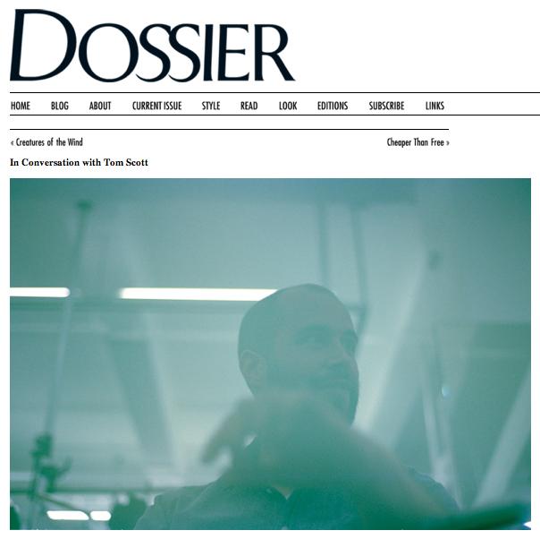ICW Tom Scott:Dossier:The Fashion Informer