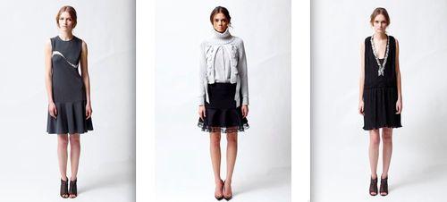 Behnaz Sarafpour Fall 2011:The Fashion Informer