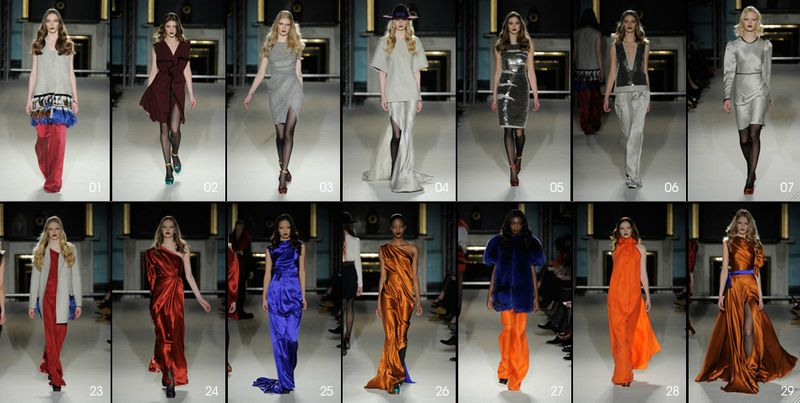 Roksanda Ilincic Fall 2011:The Fashion Informer