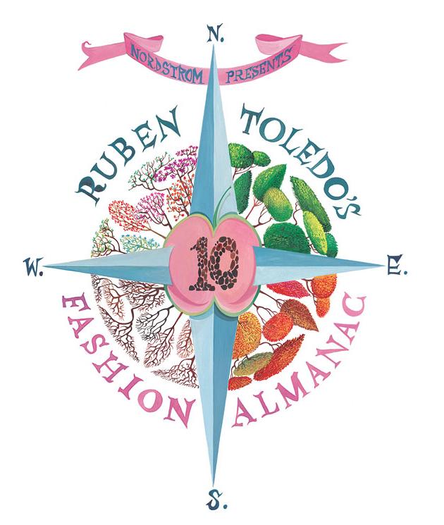 Ruben Toledo Fashion Almanac:cover