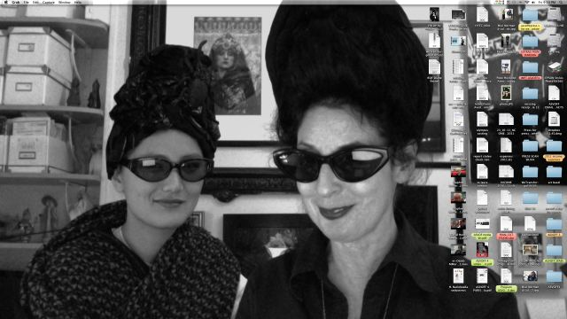 8. Diane Pernet screensaver