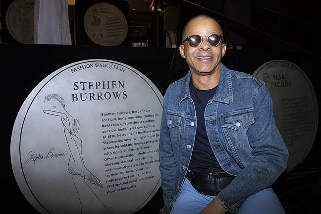 10. Stephen Burrows:fashion walk of fame