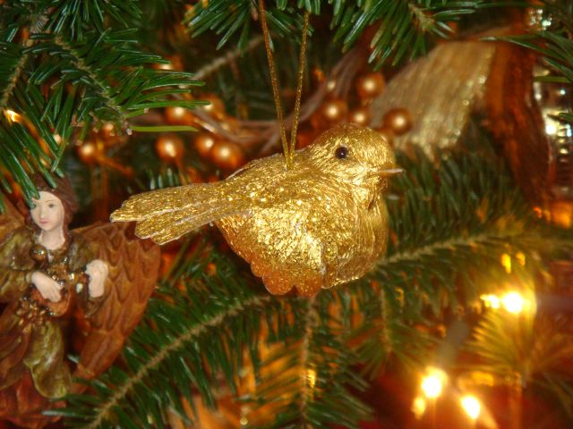 Holiday bird by The Fashion Informer