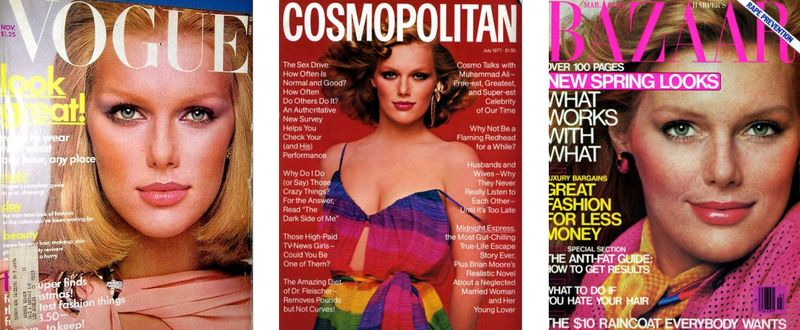 1a. Patti Hansen magazine covers 1:The Fashion Informer