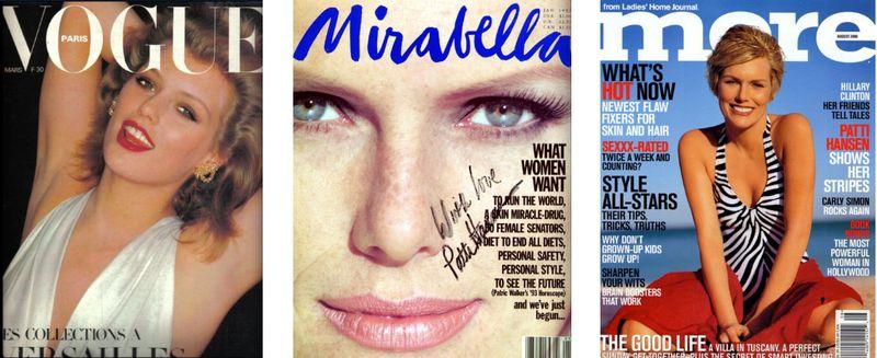 2. Patti Hansen magazine covers 2:The Fashion Informer