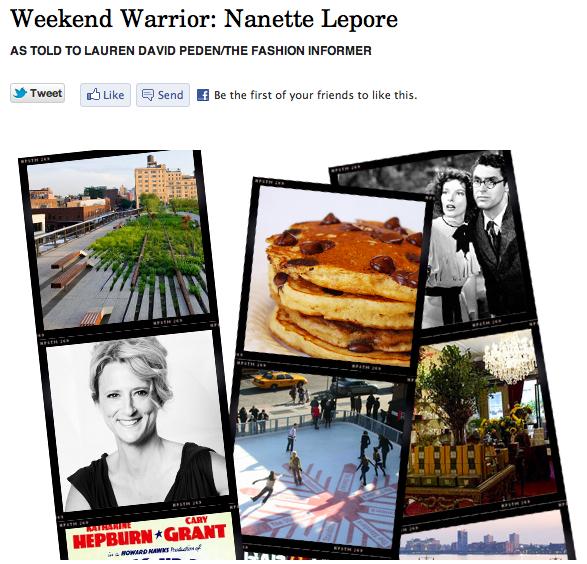 The Fashion Informer on Rue La La- Nanette Lepore