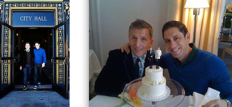 Simon Doonan and Jonathan Adler wedding