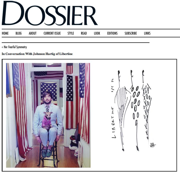 TFI on Dossier-Johnson Hartig of Libertine