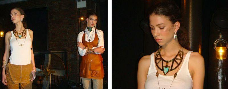 2. Pamela Love fall 2012 presentation by The Fashion Informer:Lauren David Peden