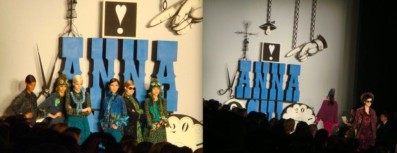 8. Anna Sui fall 2012:The Fashion Informer