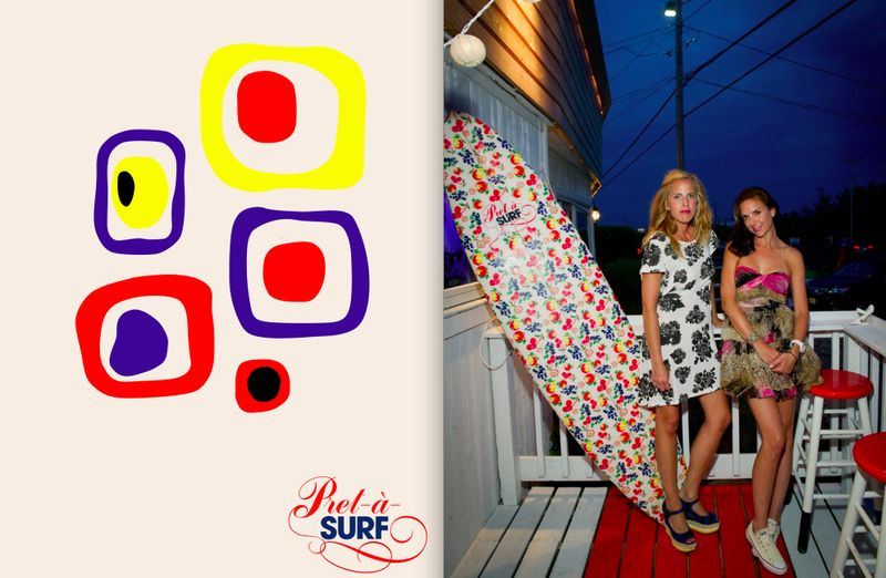 Pret-a-Surf logo and designers:The Fashion Informer