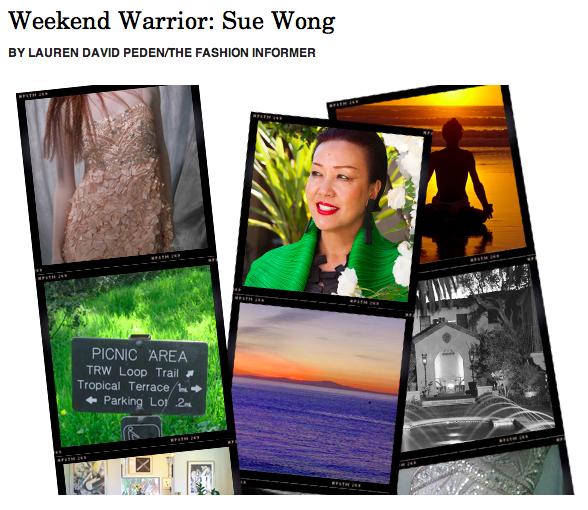 The Fashion Informer on Rue La La-Weekend Warrior:Sue Wong