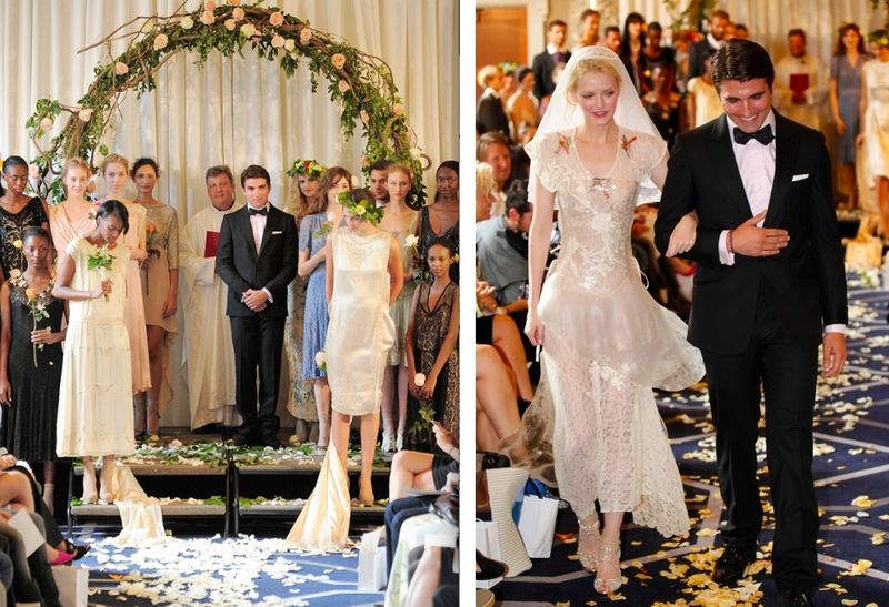 3. Imitation of Christ spring 2012 wedding:show on The Fashion Informer